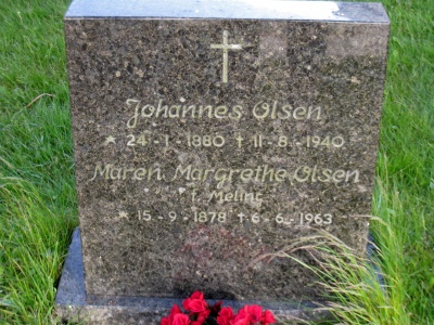 Headstone, Tananger, Sola commune, Rogaland country, Norway