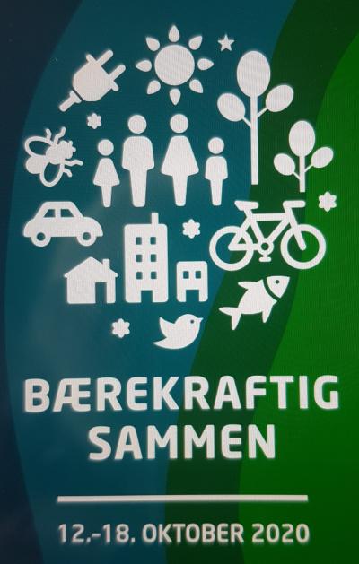 Kristiansand kommune, Miljøuka 2020, logo