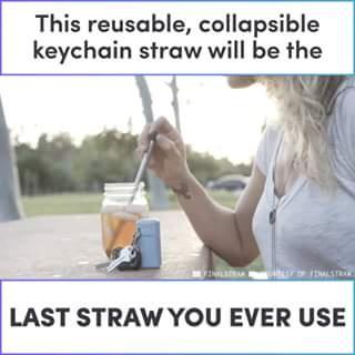 Rubber drinking straw