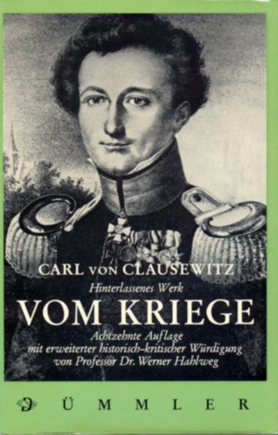 von Clausewitz, Vom Kriege