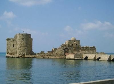 Sidon Sea Castle, Sidon, Lebanon
