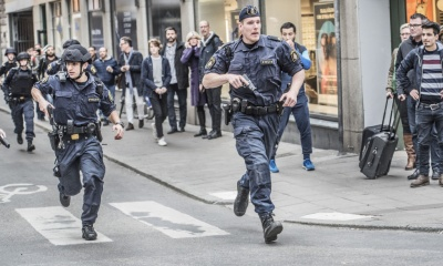 Possible terror attack, Stockholm, Sweden, 7 April 2017